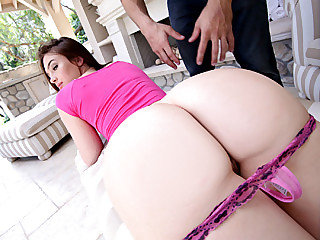 Steaming hot brunette Jody Taylor gets her tight bushy pussy fucked