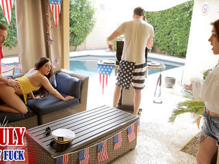 Fourth Of July Family Fuck