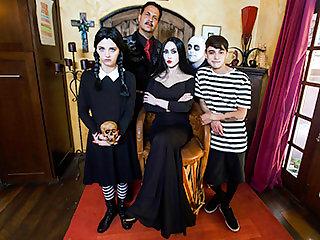 Addams Family Orgy